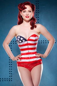 In American Pinup