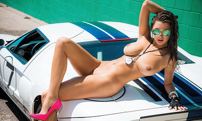 Alyssa Arce in Hot and Free from Playboy
