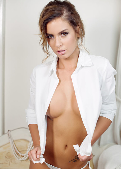 Szandra in Booty Shorts from Playboy