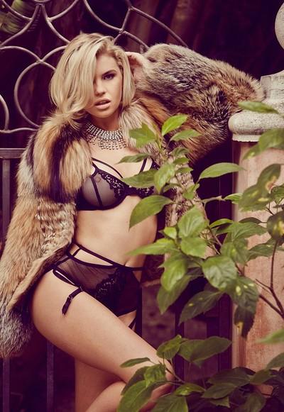 Kayslee Collins in Venus in Furs from Playboy