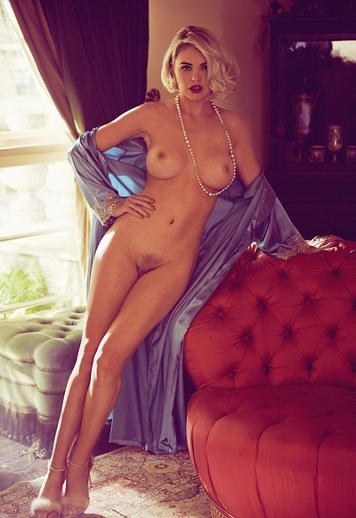 Kayslee Collins in Plush from Playboy