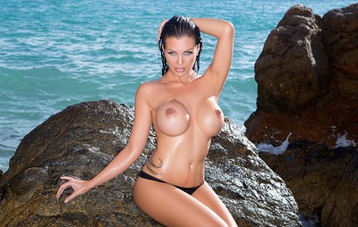 Helen de Muro in Paradise Destination from Playboy