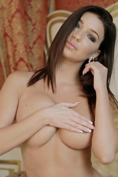 Milica Burgundy Hottie Video