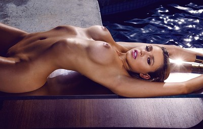 Monica Sims in Into the Light from Playboy
