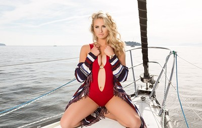 Maya Rae in Sail Away from Playboy