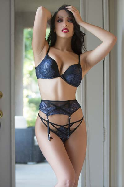 Lexi Storm is a proof of an erotic perfection with her stunning captivating body