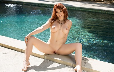 Molly Stewart in Quick Dip from Playboy