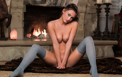 Deanna Greene in Thigh High from Playboy