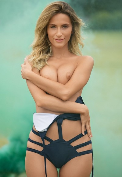 Cara Mell in Smokin from Playboy