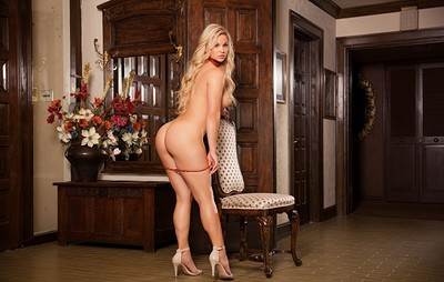 Laura Alexis in Elegant Manor from Playboy