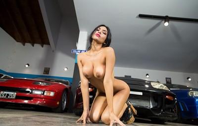 Naara Da Silva Ferreyra in Under The Hood from Playboy
