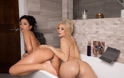 Barbara Desiree and Cheyenne Cummings in Squeaky Clean from Playboy