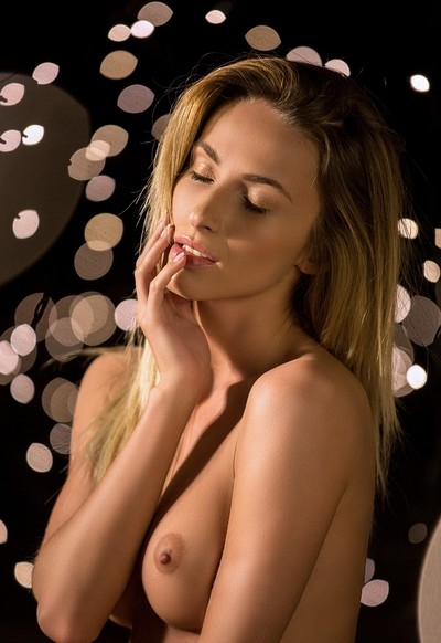 Cara Mell in Night Lights from Playboy