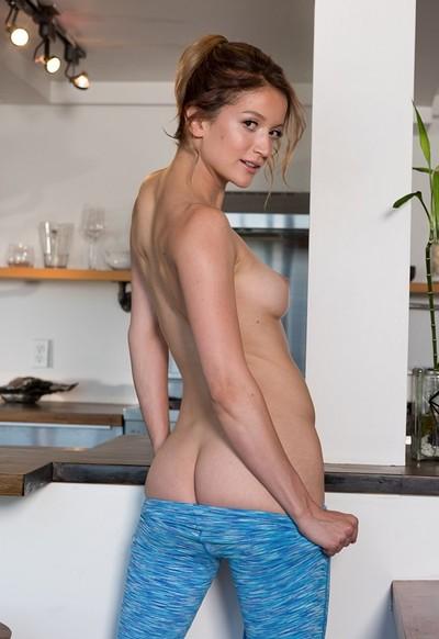 Dakota Burd in Morning Jog from Playboy