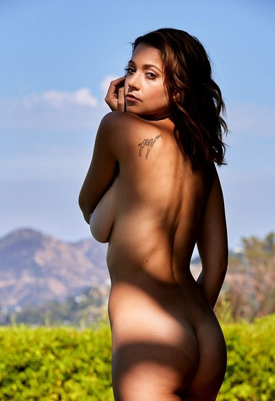 Ali Rose in Sun and Shade from Playboy