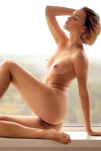 Young short haired chick with great is waiting for you to make all of her fetishes real