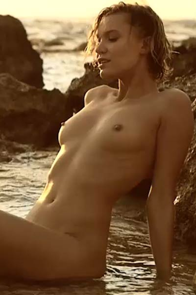 Chucha is super sensual short haired blonde with winning combination of sexy body and sweet face