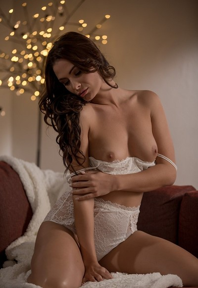 Cosmo in Sensual Comforts from Playboy