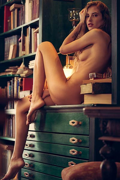 Getting naked and posing like that is this young babe favourite solo action