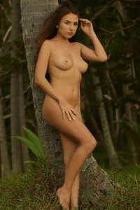 Niemira has a perfect all natural body and she is not afraid to show it