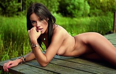 Daria Cybulska in Playboy Poland from Playboy