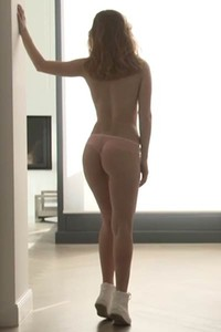 Diana Lark is pretty brunette that likes to expose her naked body in front of her photographer