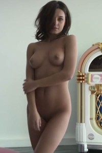 Glorious doll is waiting for someone to come join her in her solo play at home