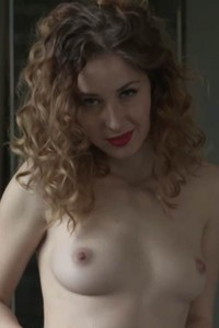 Small titted hottie Diana Lark loves getting naked infront of camera