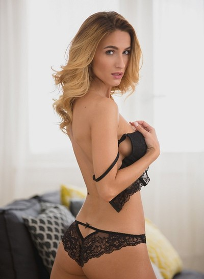 Cara Mell in Lace Tempatation from Playboy