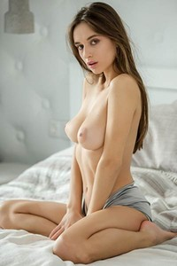 Would you help this top class brunette with her unrealized fantasies