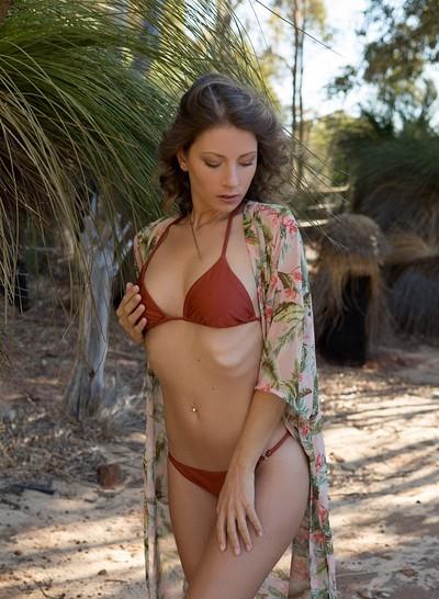 Miluniel Louis in Secret Sands from Playboy