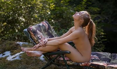 Maija Riika in Back to Nature from Playboy