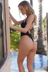 Charming blonde chick Olivia Preston leaves us speechless when she gets naked