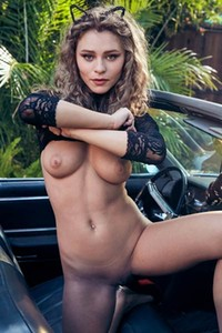 Alice Antoinette spectacular chick takes off clothes slowly and shows off her marvelous body