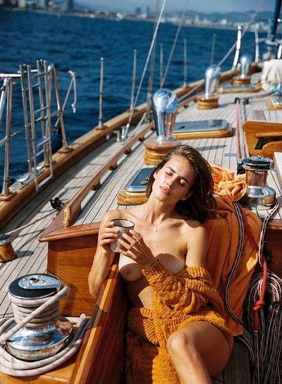 Johanne Landbo in All Hands on Deck from Playboy