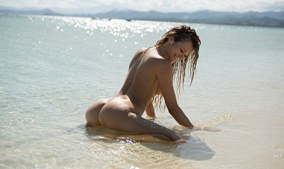 Olivia Preston in Walking on Water from Playboy