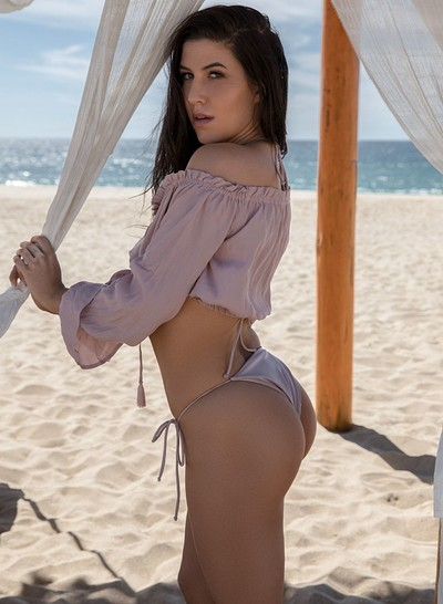 Carmen Nikole in Sizzling Sands from Playboy