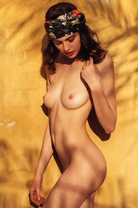 Sera Mann in Delicate Goddess from Playboy