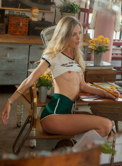 Hailey Afton in Rolling Through from Playboy