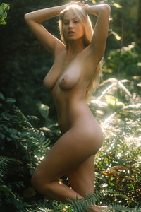 Hot and young lady is all about presenting her stunning natural attributes