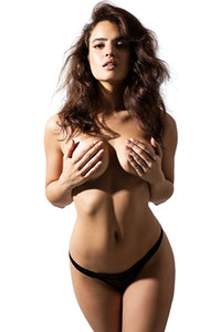 Nina Daniele enjoys naked posing and presenting her perfect natural body like crazy