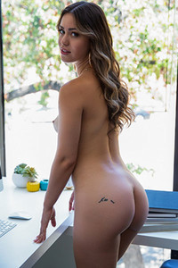 Perfect girl Alina Lopez is hiding her perky tits and bouncing ass body under all those clothes