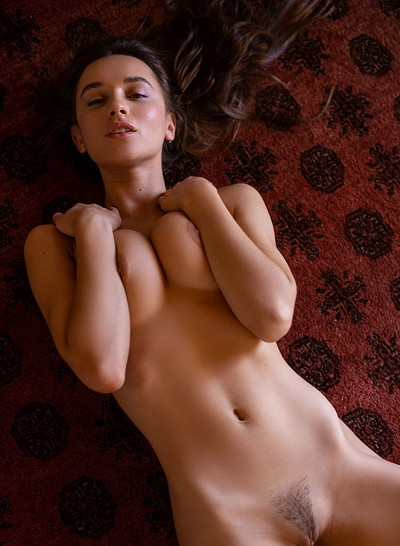 Gloria Sol in Waking Light from Playboy