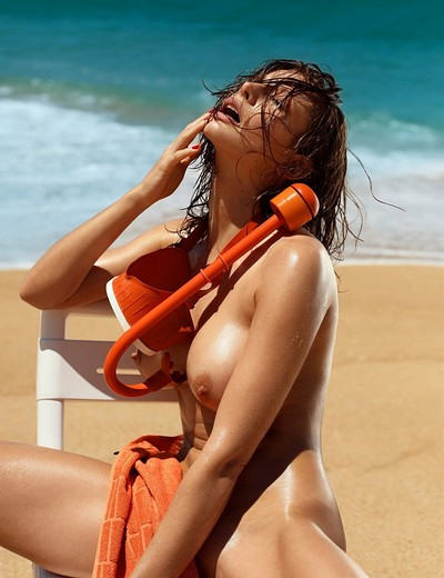 Emily Agnes in Playboy Portugal from Playboy