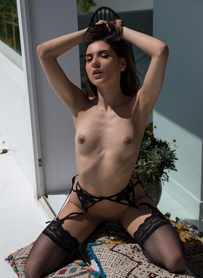 Karoline CC in Intimate Scene from Playboy