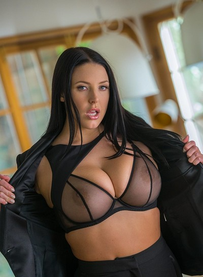 Angela White in Professional Confessions from Playboy