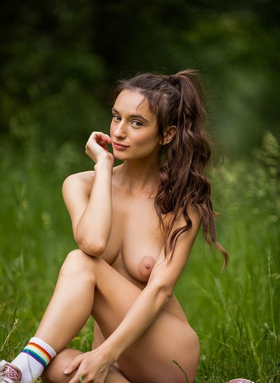 Gloria Sol in In the Moment from Playboy