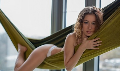 Diana Lark in Here and Now from Playboy