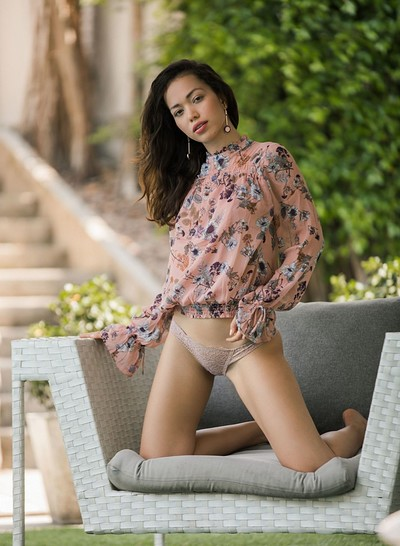 Kit Rysha in Romantic Radiance from Playboy
