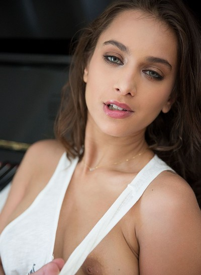 Uma Jolie in Soulful Expression from Playboy